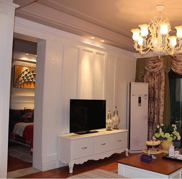 小户型客厅电视墙设计装修效果图2014