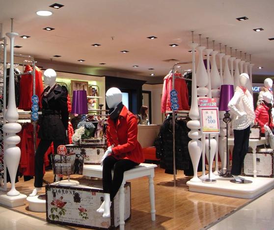 上海服装店装修